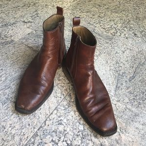 Men's leather boots 🥾